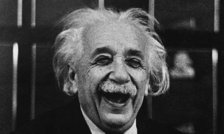 Of course, I was. Albert Einstein, 1953. Photograph: Ruth Orkin/Hulton Archive/Getty Images